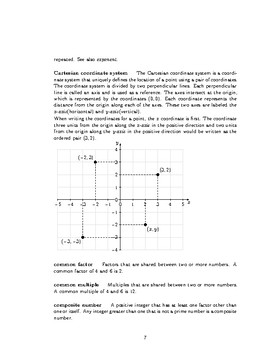 Illustrated Glossary of Common Core Math Terms