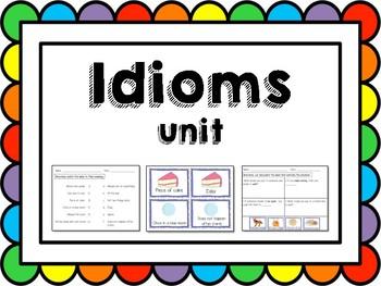Illustrated Idiom Unit