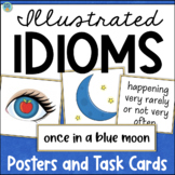 Idioms Posters and Task Cards - Figurative Language