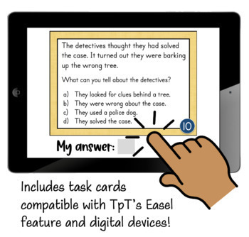 Idioms Activities Task Cards and Posters - Figurative Language