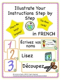 Illustrated Instruction Cards in FRENCH