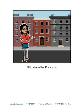 Read-to-Learn Italian Illustrated Story - The Girl Wants Hot Chocolate