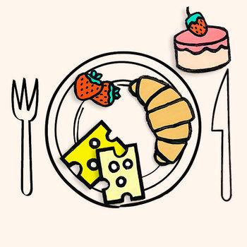 Illustrated Market Food Printable Pack