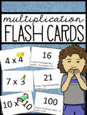 Illustrated Multiplication Flash Cards