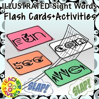 Illustrated Sight Words Multisensory
