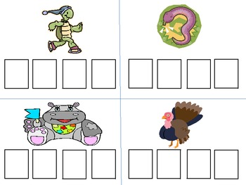 Illustrated Sound Boxes for Kindergarten and 1st Grade