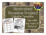Illustrated Timeline Project Editable Template
