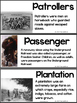 Illustrated Vocabulary Cards for American History: Then and Now
