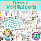Illustrated Word Wall Cards for All Year Long!