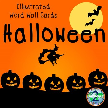 Illustrated Word Wall Cards: Halloween