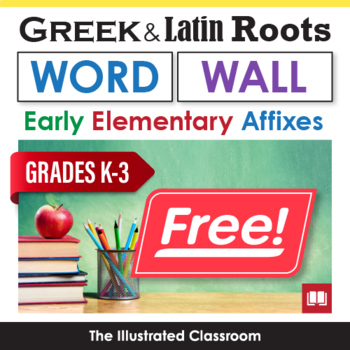 ELA Word Wall for Roots and Affixes