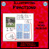 Illustrating Fractions - Book 6: Subtracting Mixed Numbers (3 & 1/4 - 2 & 5/6)
