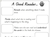 Illustrating Good Reader Skills