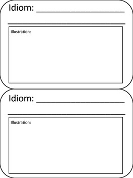 Illustrating Idioms
