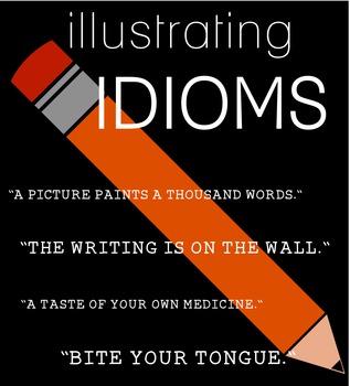 Illustrating Idioms: Figurative Language Activity (video i