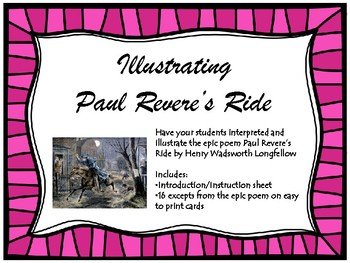 Illustrating Paul Revere's Ride