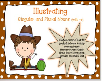Illustrating Singular and Plural Nouns (with -s)