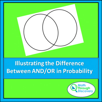 Illustrating the Difference Between And/Or in Probability