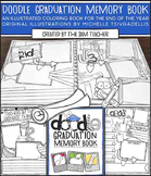 Graduation Memory Book: Doodle Coloring Book