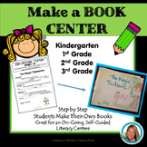 Make a Book Centers - Build a Story Kindergarten, 1st  2nd grade