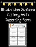 Illustration Stations Gallery Walk Graphic Organizer