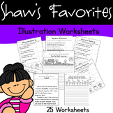 Using Illustration Worksheets {25 Different Worksheets}
