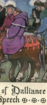Illustration of the Friar from the GP of Chaucer's Canterb