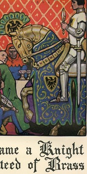 Illustration from the Squire's Tale of Chaucer's Canterbury Tales