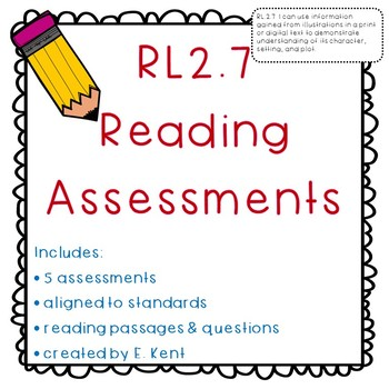 Illustrations Adding to Text Assessments - RL2.7