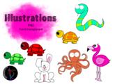 Illustrations - Animaux