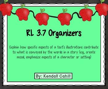 Illustrations Organizer RL.3.7