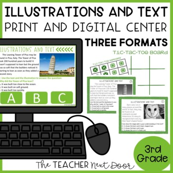 Illustrations and Text Game | Illustrations and Text Activity