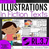 Illustrations in a Text 3rd Grade RL3.7 with Digital Distance Learning Links