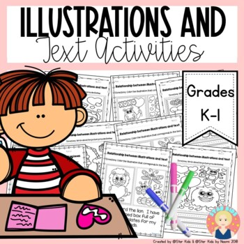 Illustrations in a Text - Valentine's Day Themed {English and Spanish}