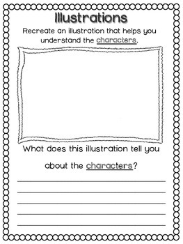 Illustrations in the Text Graphic Organizers