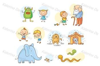 Illustrations of Antonyms
