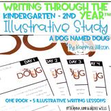 Illustrative Study for Writers Workshop: A Dog Named Doug