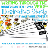 Illustrative Study for Writers Workshop: I Walk with Vanessa
