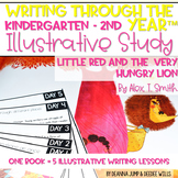 Illustrative Study for Writers Workshop: Little Red and Th