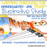 Illustrative Study for Writers Workshop: They All Saw a Cat