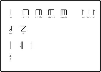 Illustrator Symbol Library - Kodaly Rhythm Symbols