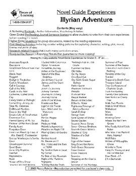 Illyrian Adventure Literature Guide
