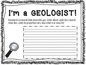 I'm A Geologist!