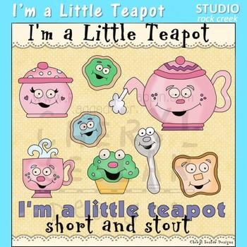 I'm A Little Teapot Clip Art C Seslar