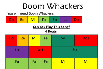 I'm A Little Teapot for Boomwhackers