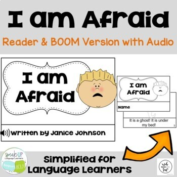 I'm Afraid ~ Halloween Reader & Prediction graph chart {for Young Readers}
