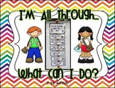 I'm All Through, What Can I Do? Classroom Display