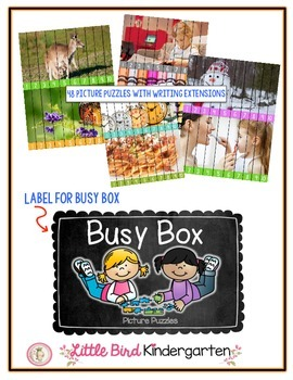 I'm Done! Busy Box for Little Learners: Picture Puzzle Edition