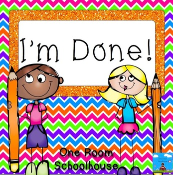 I'm Done!  Creative Thinking Activities