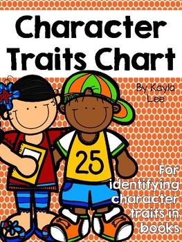 FREE Character Traits Chart